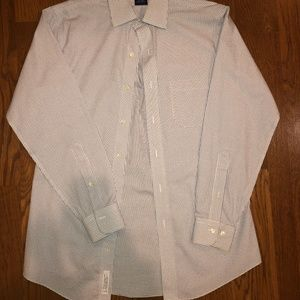 Blue/White Checkered Brooks Brothers Dress Shirt